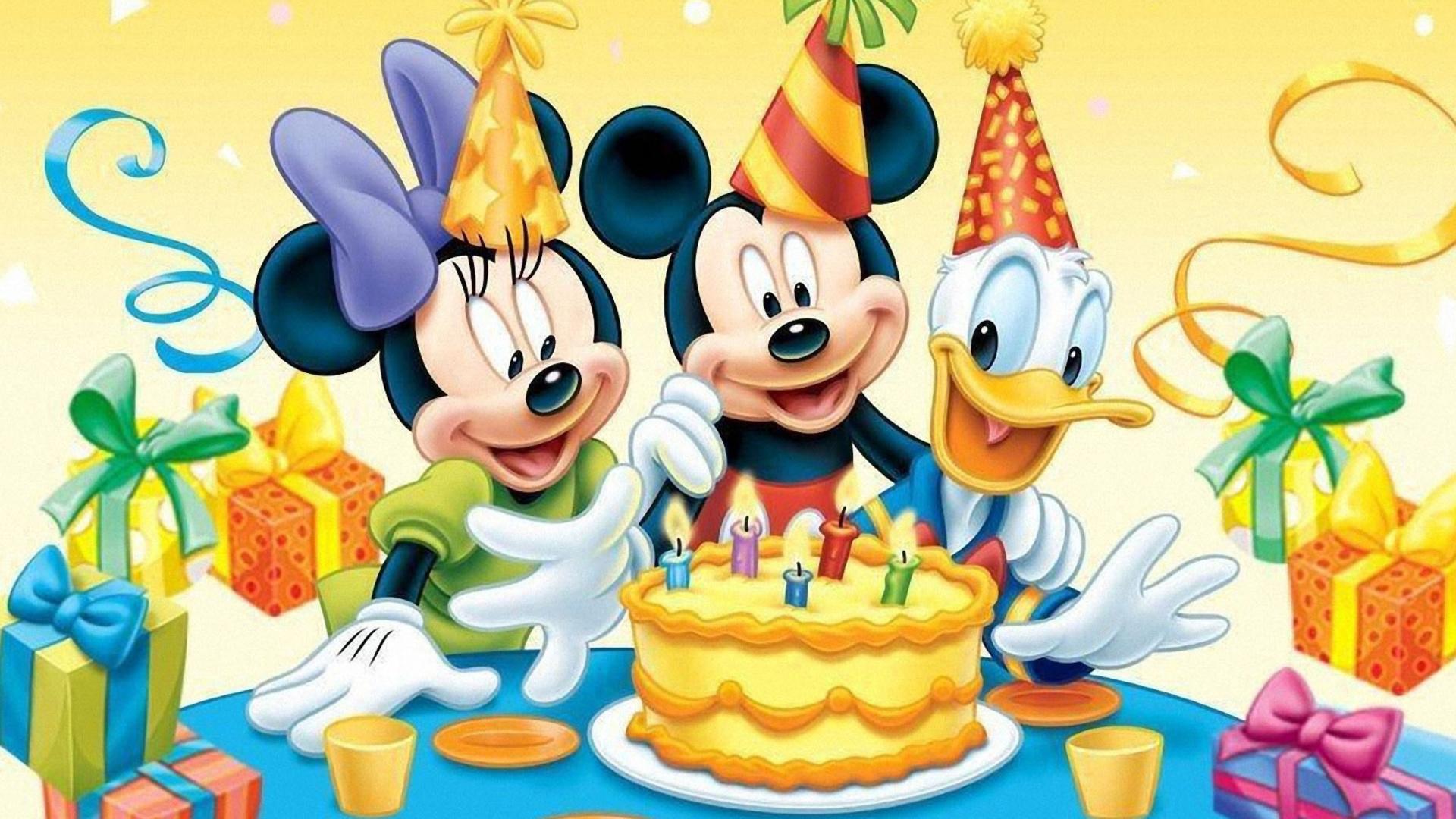 Открытки с днем рождения! Открытки детям на 1,2.3,4,5,6 37