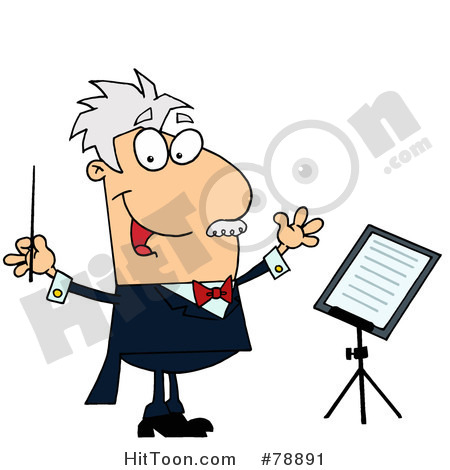 Music Teacher Clip Art Similar Conductor Clip Art