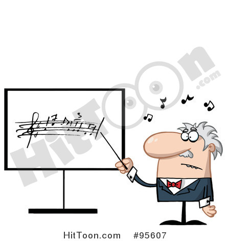 Music Teacher Clipart