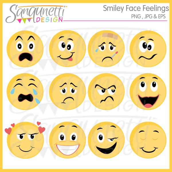 Feelings And Emotions Clipart - Clipart Kid