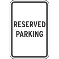 Reserved Sign Clipart Reserved Parking Aluminum Sign