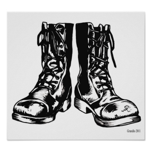 clipart of military boots - photo #4