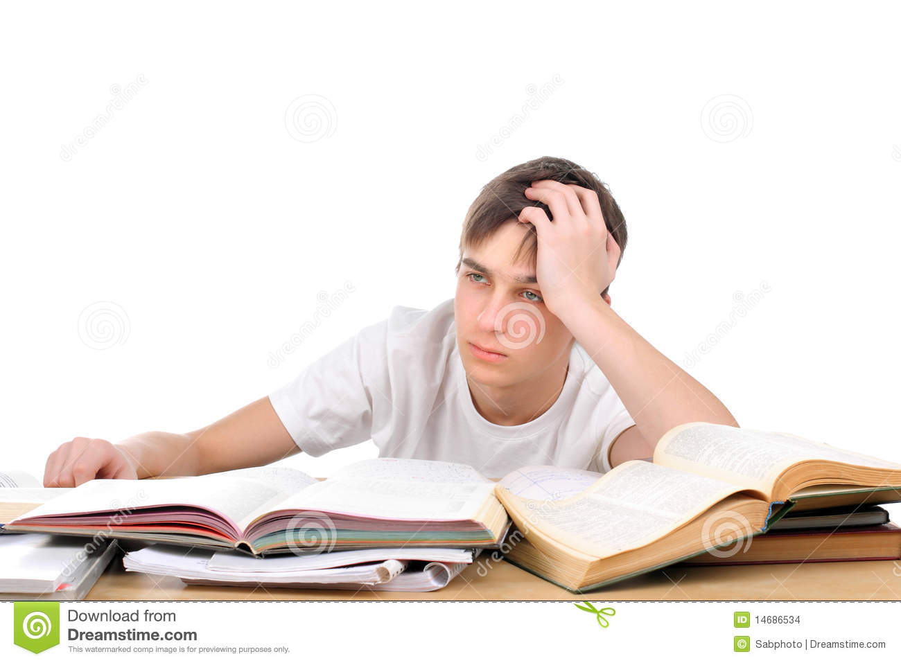 Bored Student Stock Images   Image  14686534