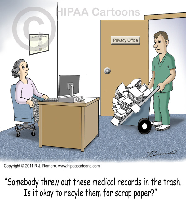 HIPAA Medical Records Clip Art