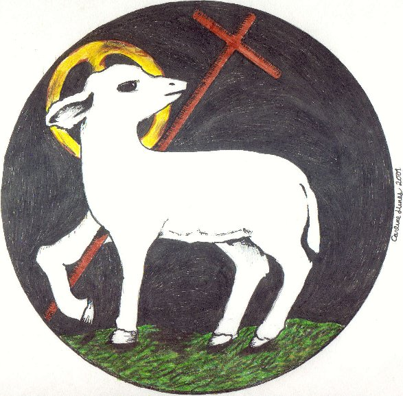 clipart of jesus with sheep - photo #43