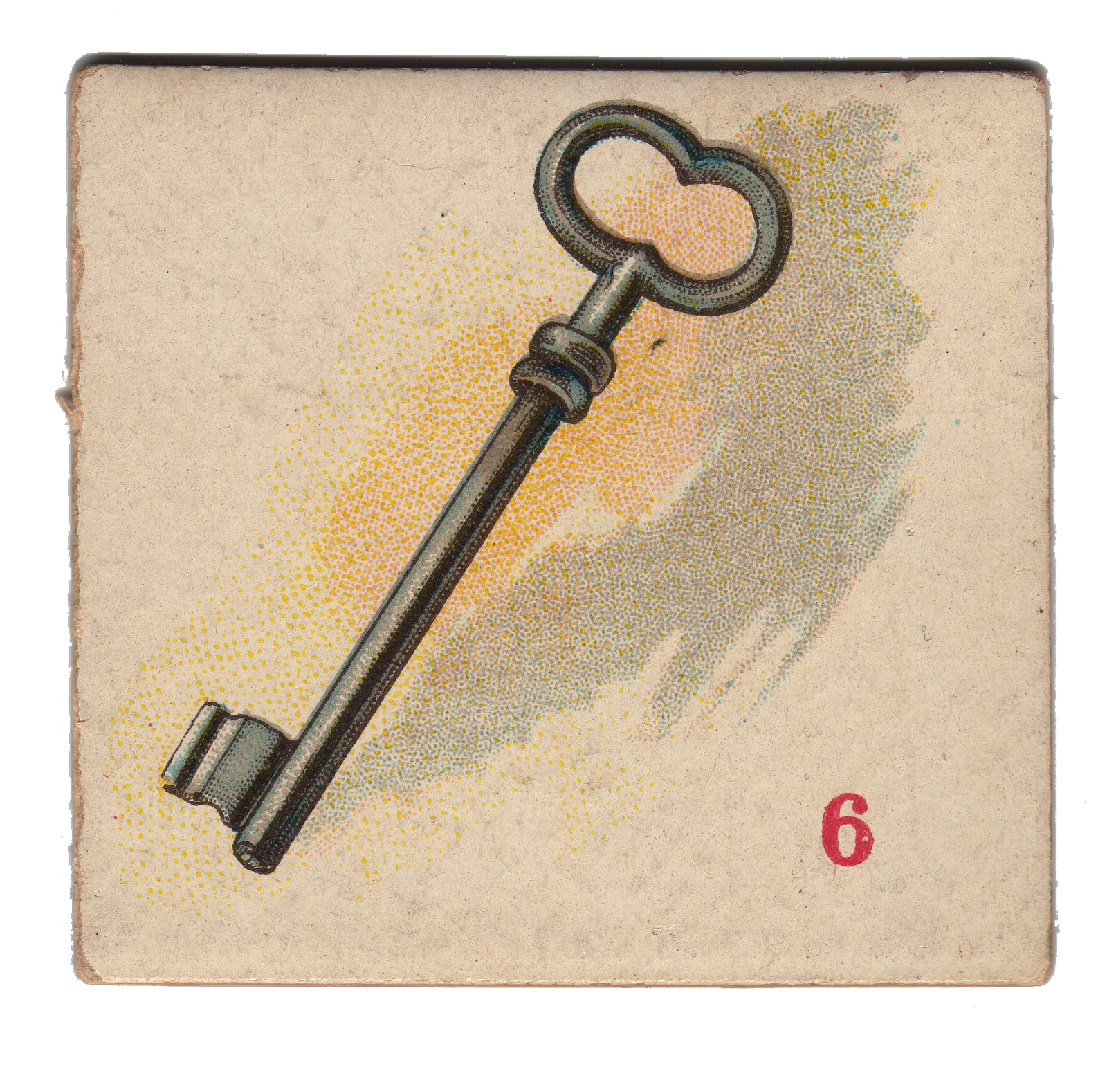 Free Vintage Clip Art   Skeleton Key   The Graphics Fairy