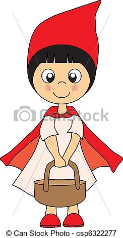 Clip Art Little Red Riding Hood Clipart red riding hood clipart kid illustration of little csp6322277 search clipart