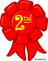 Second Place Award Ribbon Clipart - Clipart Kid