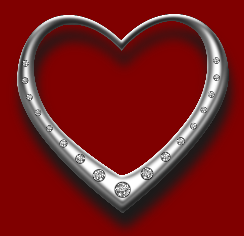 There Is 40 Silver Heart Designs   Free Cliparts All Used For Free