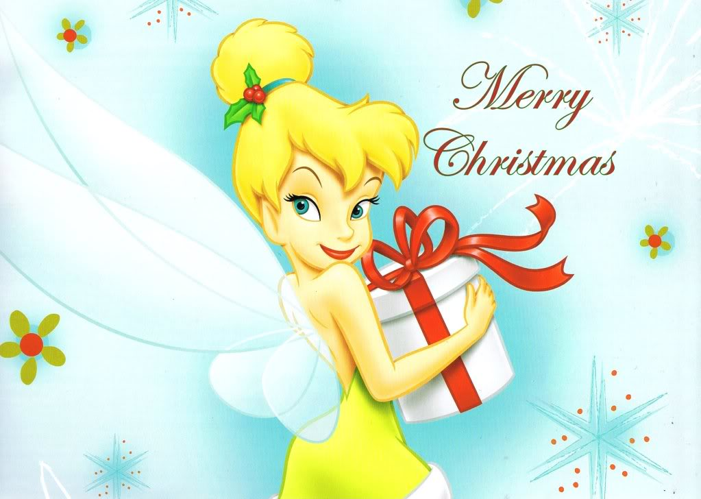 Tinkerbell christmas clipart suggest
