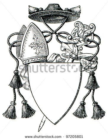 Abbot Coat Of Arms  The Roman Catholic Church  Publication Of The Book