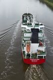 Beldorf   Tanker  Chemicals Or Oil  At The Kiel Canal Stock
