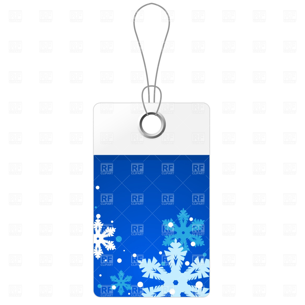 Blue Christmas Price Tag 1296 Download Royalty Free Vector Clipart