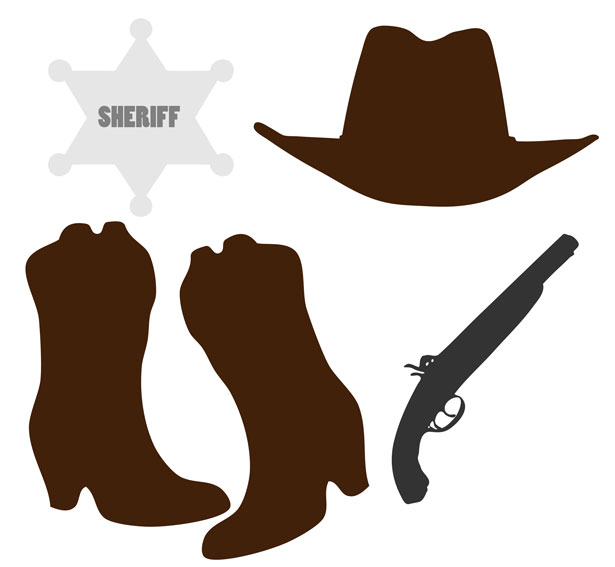 Boots   Cowboy Boots And Hat Clipart   Aecfashion Com