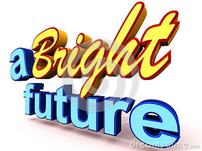 Bright Future Stock Images   Image  26288544