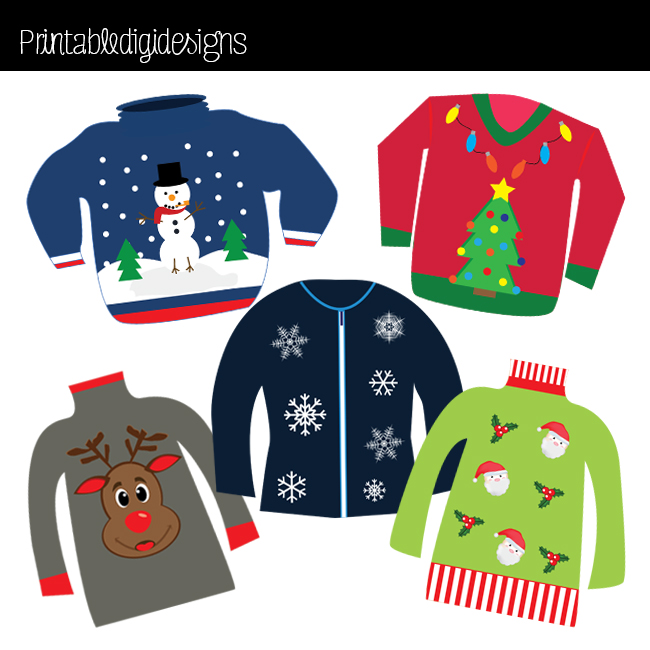 Sweater Christmas Star Clipart - Clipart Suggest