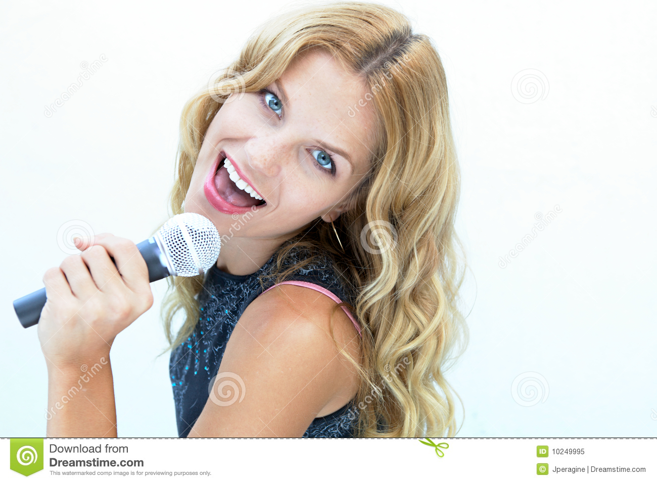Female Rock Star Royalty Free Stock Photo   Image  10249995