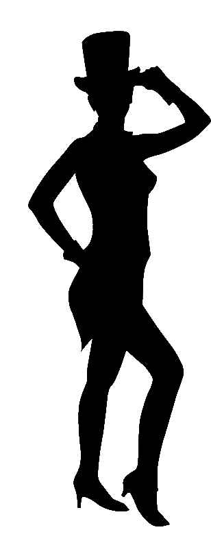 Jazz Dancer Silhouette Clip Art Quotes
