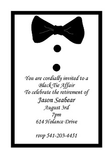 Leisure Retirement Party Invitations