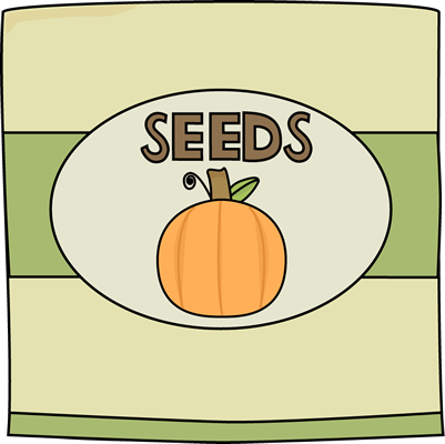 Pumpkin Seed Packet Clip Art Image   Packet Of Pumpkin Seeds