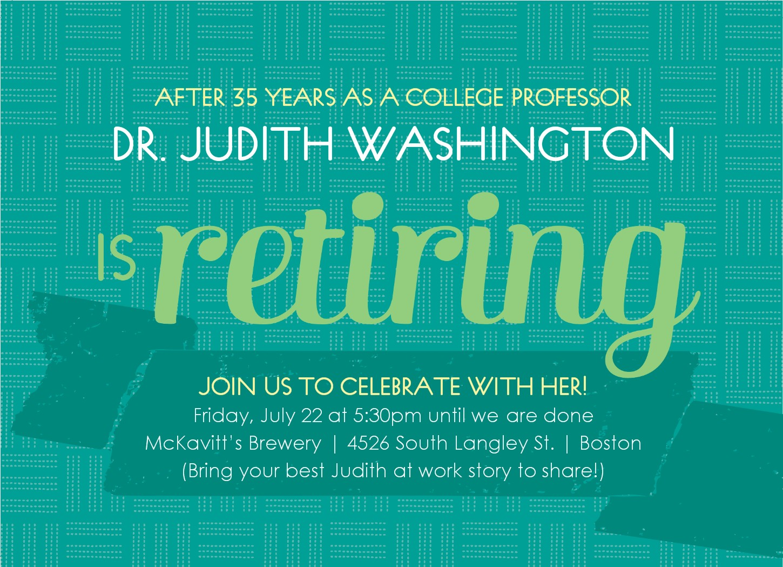 retirement wording and clipart clipart kid retro retirement invitation