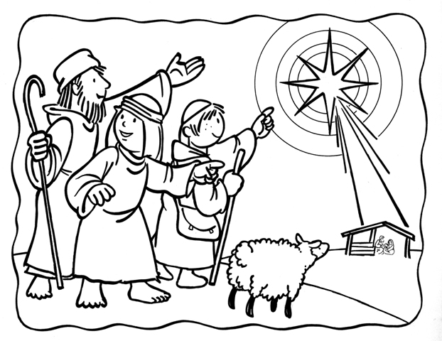 Shepherds Following The Star