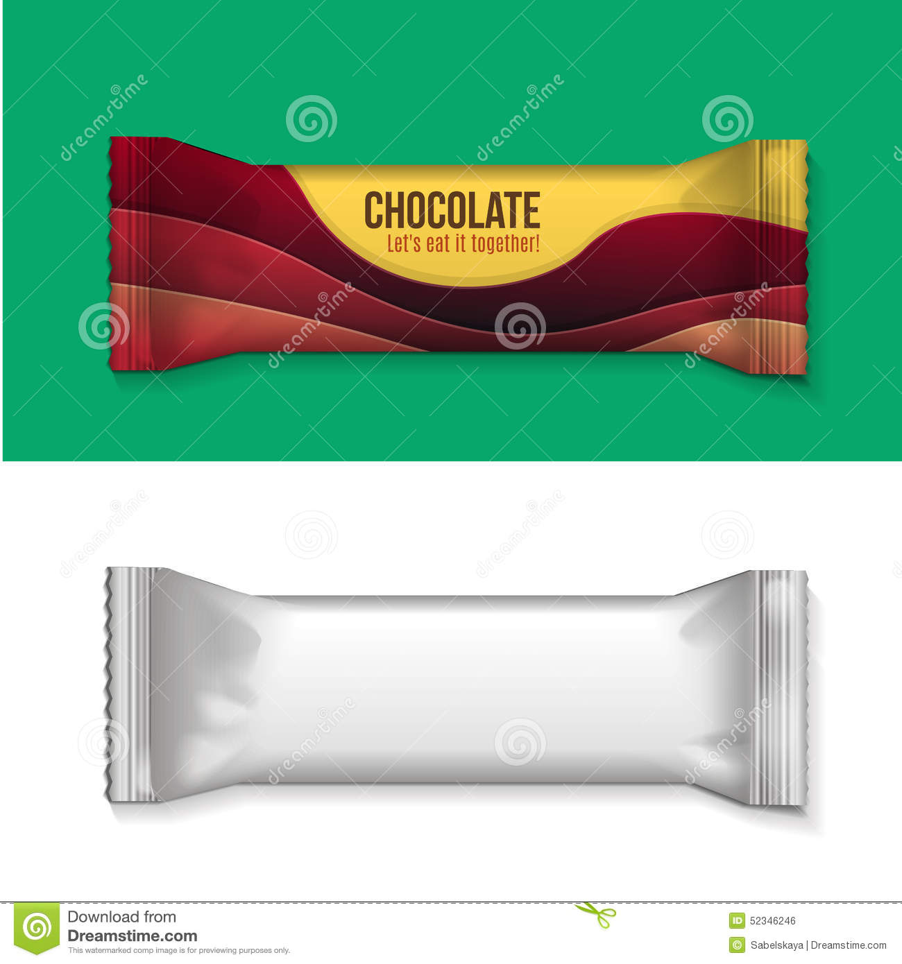 blank chocolate bar wrappers - photo #17