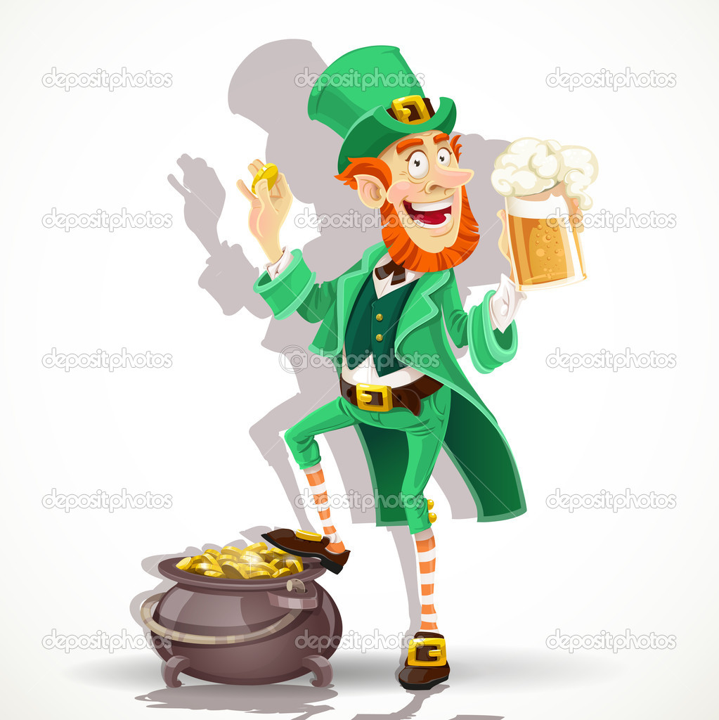 Lucky Charms Leprechaun Clipart - Clipart Kid