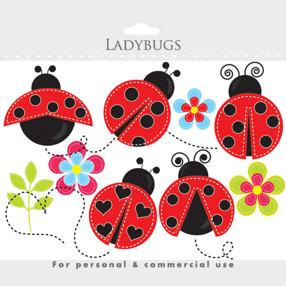 Ladybug On a Daisy Clip Art – Cliparts