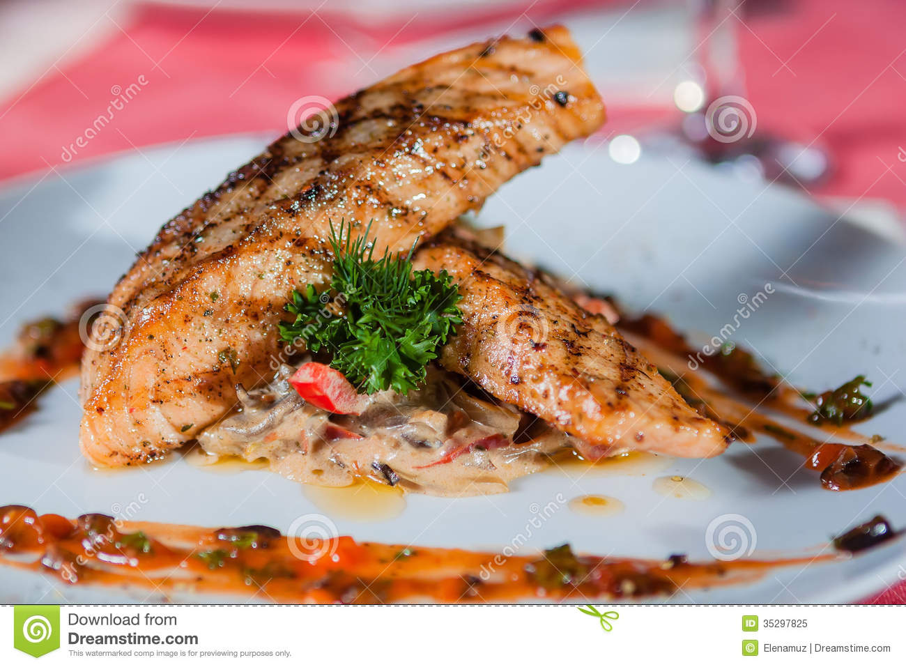 Main Course Royalty Free Stock Photo   Image  35297825