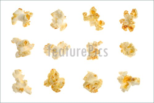 Popcorn Kernel Clipart Popped Kernels Of Corn