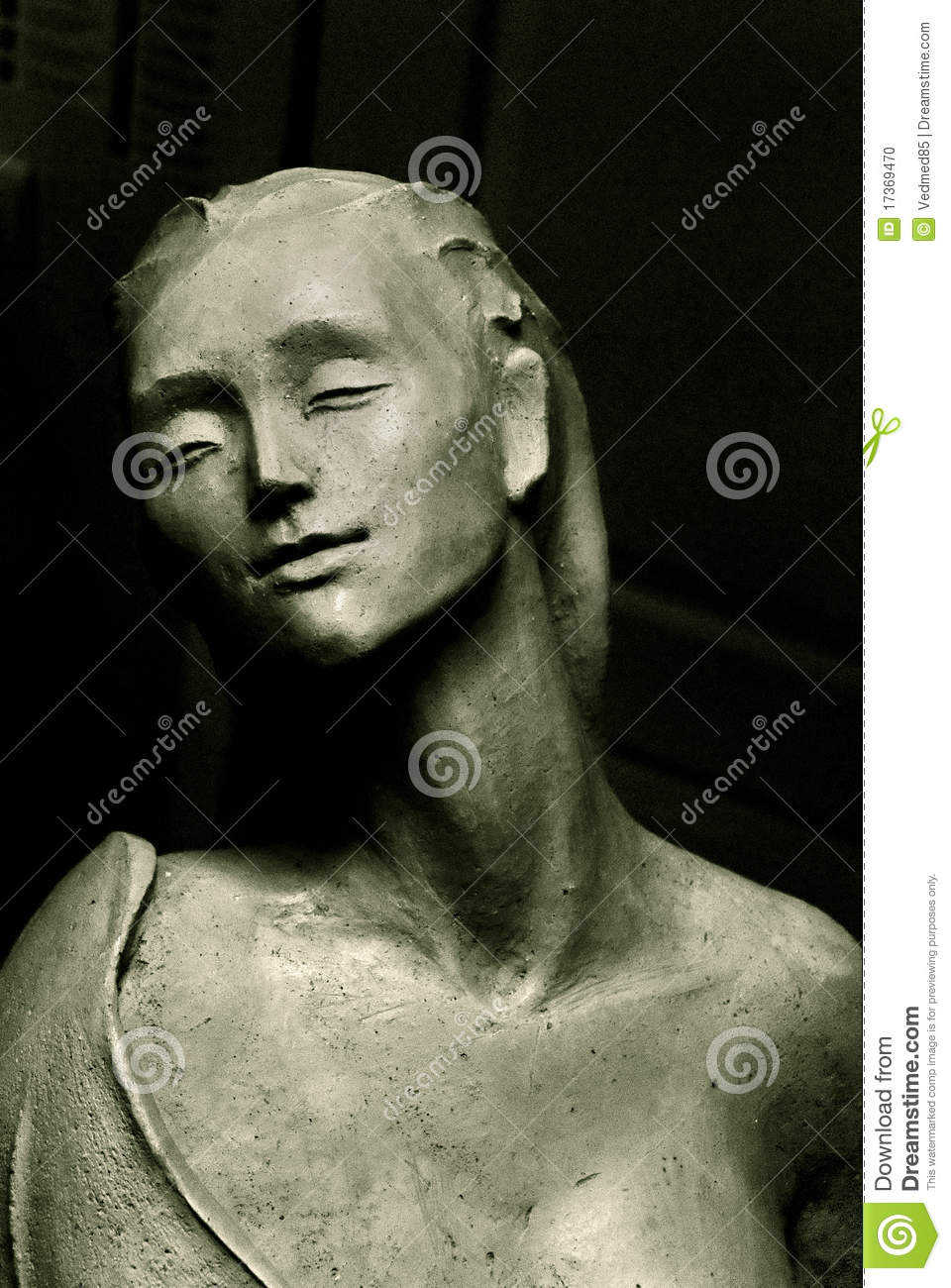 Sculpture Of Women Stock Photo   Image  17369470