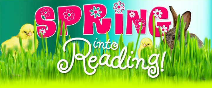 Image result for spring reading clipart