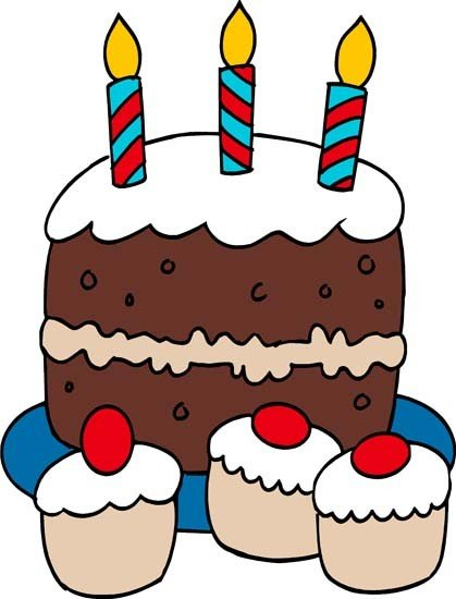 Cake Designs Clip Art : 7th Birthday Cake Clipart - Clipart Suggest