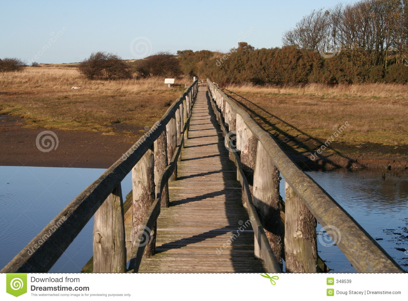 Bridge Over Water Royalty Free Stock Images   Image  348539