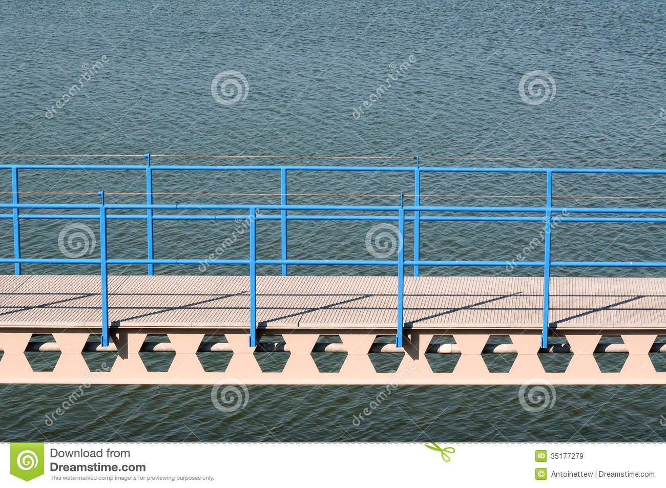 Bridge Over Water Royalty Free Stock Images   Image  35177279
