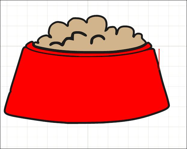 Dog Food Clipart - Clipart Kid