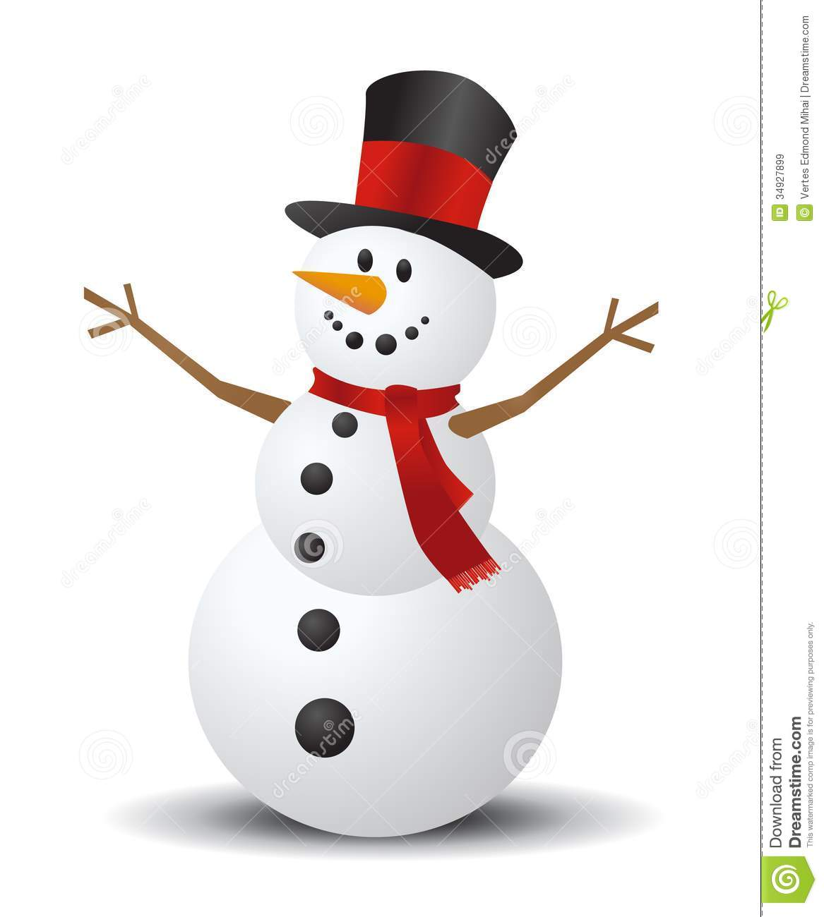Christmas Snowman Clipart - Clipart Kid