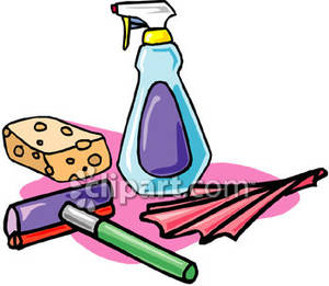 Cleaning Supplies Clip Art