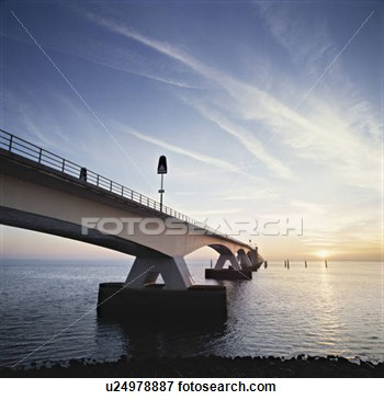 Clipart Bridge Over Water Picture   A Bridge Over Water In The