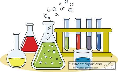 Clipart Chemistry   Chemistry Test Tube Flask   Classroom Clipart