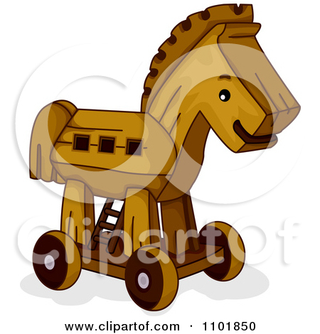 Funny Horse For Coloring Book Vector Illustration Download Horse