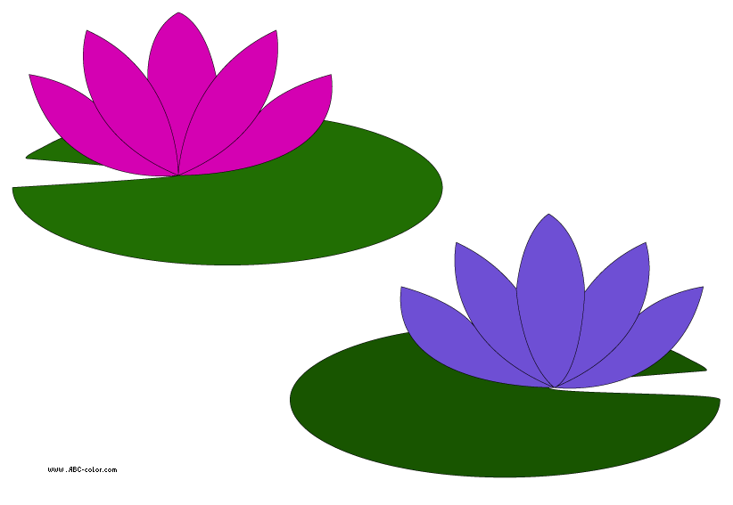 Clip Art Lily Pad Clipart lily pad clipart kid go back gallery for flower clipart