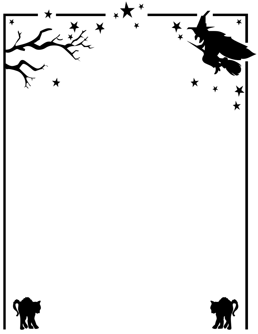 Halloween Borders Clipart - Clipart Kid