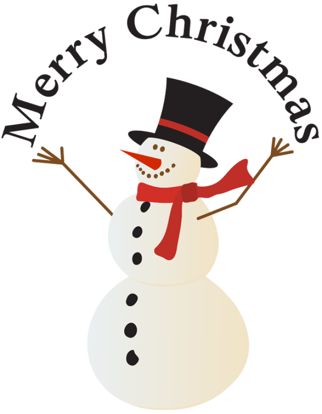 Christmas snowman clipart suggest