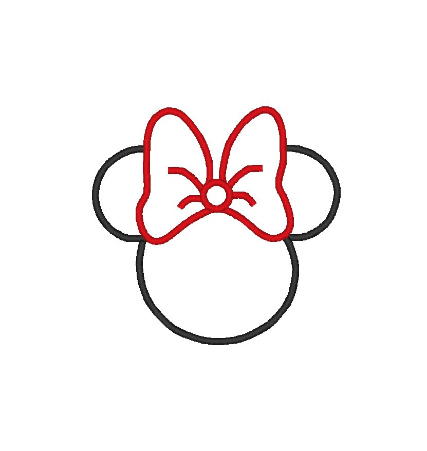 Minnie And Mickey Silhouette Clipart - Clipart Kid