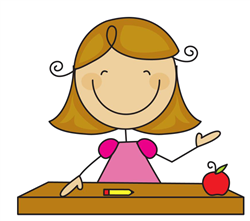Cute Teacher Clipart - Clipart Kid