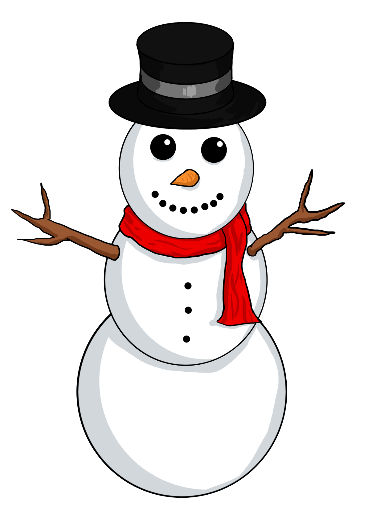 Snowman free clipart suggest