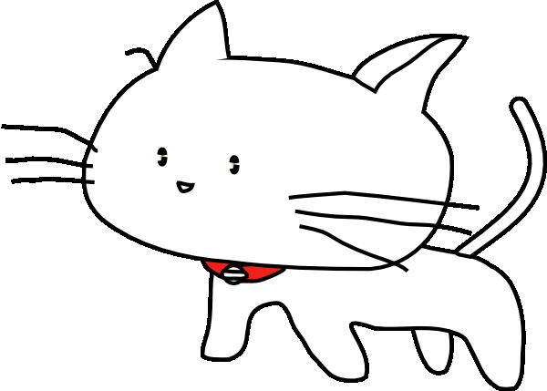 Black Cat Cartoon Clipart - Clipart Kid