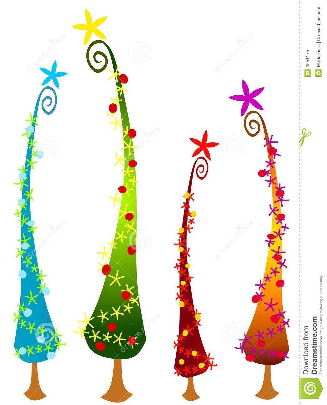 Whoville Christmas Tree Clipart - Clipart Kid